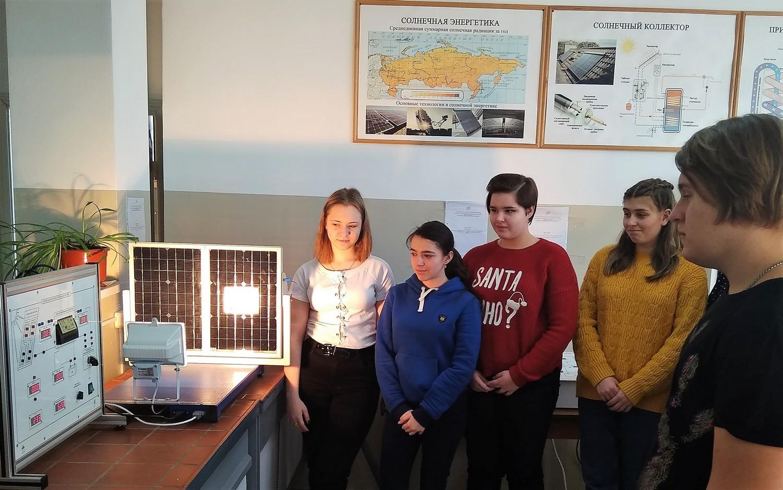 Школьники Тамбова изучили инженерные основы защиты окружающей среды