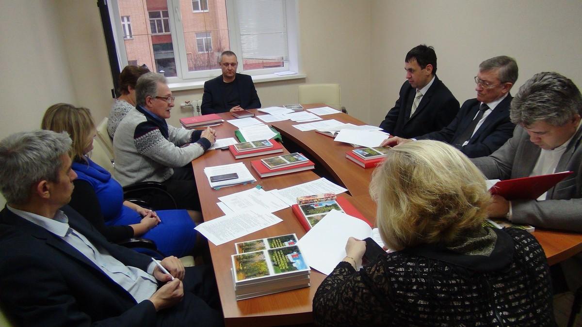 Заседание Общественного экологического совета Тамбовской области