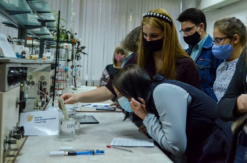 Разработка проектов «Молодежной школы цифровой экологии» на базе лабораторий ТГТУ